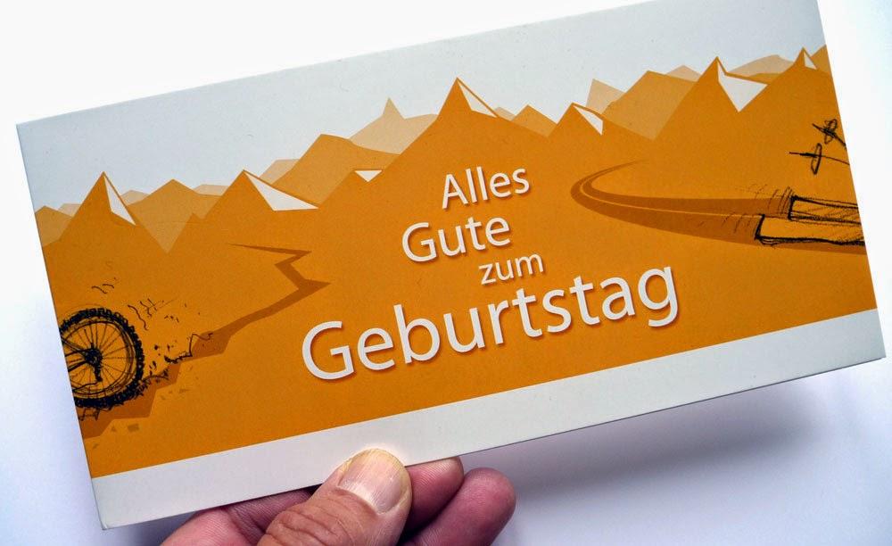 Firmengeburtstagskarte 1