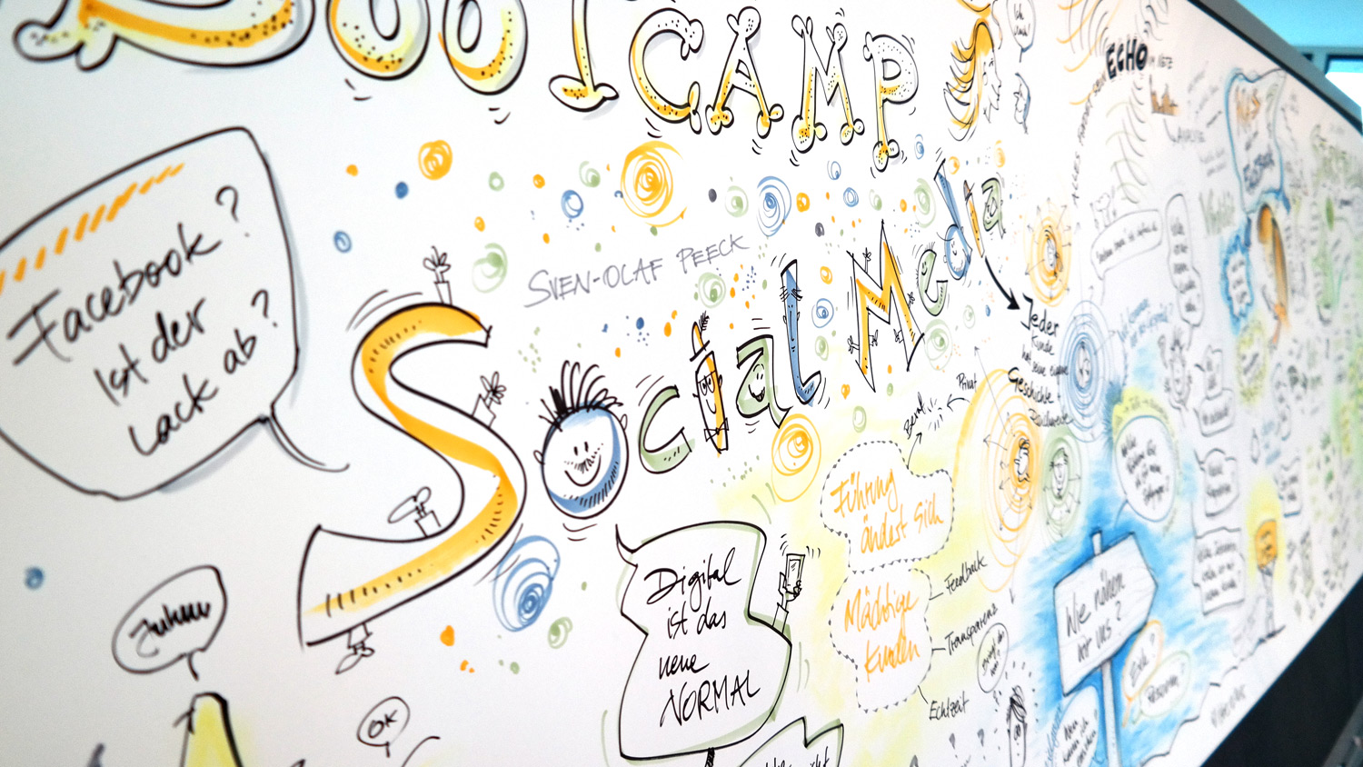 Graphic Recording auf Bootcamp
