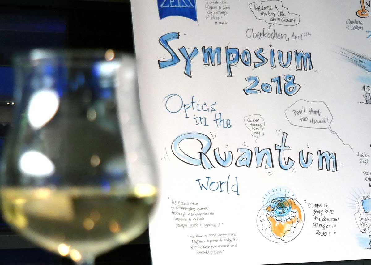 Mein bisher schwierigstes Graphic Recording: ein Ausflug in die verrückte Welt der Quantenphysik