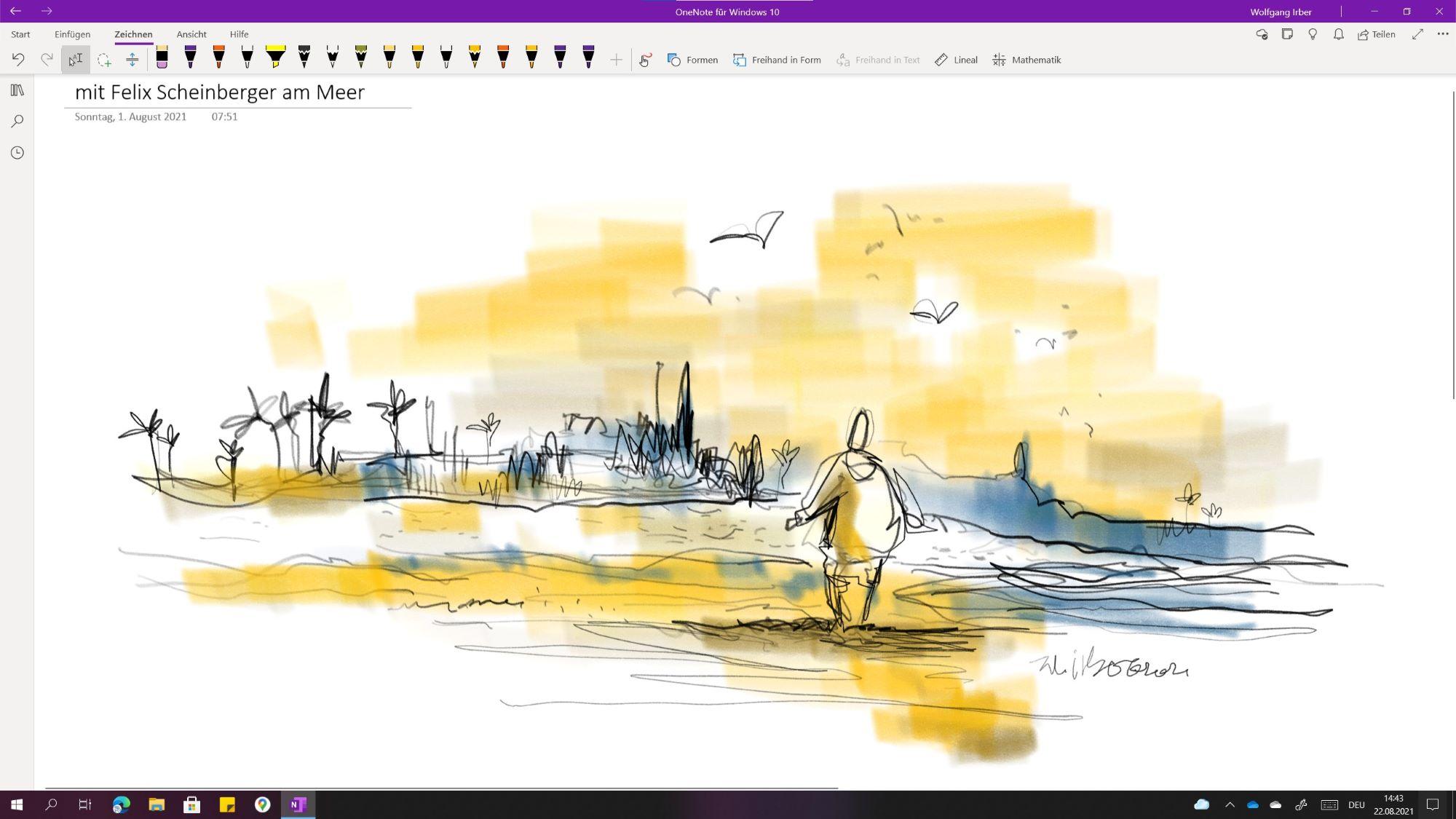 Zeichnen auf dem Microsoft Surface